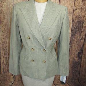 Ralph Lauren Wool Blend Blazer 6P New